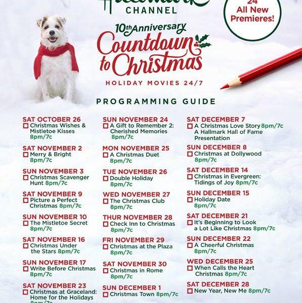 2019 Hallmark Christmas Movie Reviews