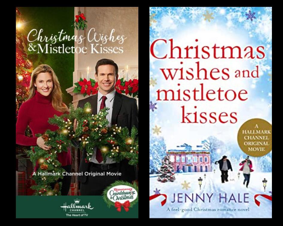 Hallmark Christmas Movie Schedule starts with Movie Based on Book